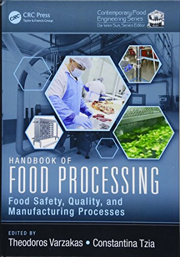9781498721776: Handbook of Food Processing: Food Safety, Quality, and Manufacturing Processes (Contemporary Food Engineering) (Volume 1)
