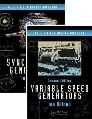 9781498723411: Electric Generators Handbook - Two Volume Set