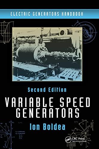 9781498723572: Variable Speed Generators, Second Edition (Volume 2)