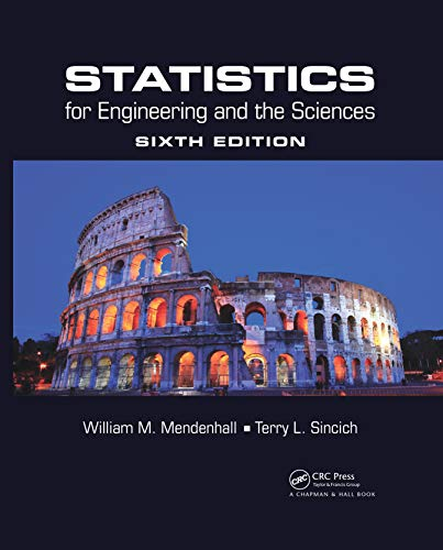 9781498728850: Statistics for Engineering and the Sciences, Sixth Edition (Volume 1)