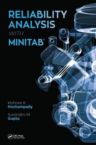 9781498737586: Reliability Analysis with Minitab