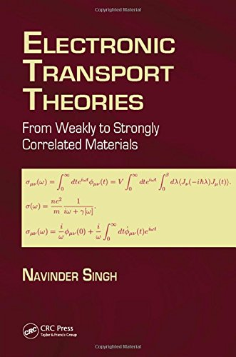 9781498743594: Electronic Transport Theories: From Weakly to Strongly Correlated Materials