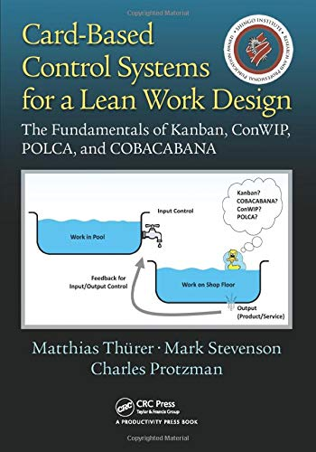 9781498746946: Card-Based Control Systems for a Lean Work Design: The Fundamentals of Kanban, ConWIP, POLCA, and COBACABANA