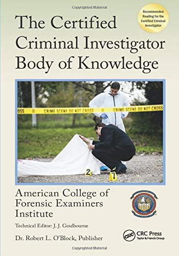 9781498752053: The Certified Criminal Investigator Body of Knowledge (Center for National Threat Assessment)