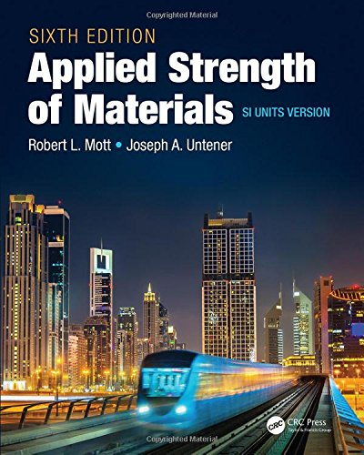 9781498779296: Applied Strength of Materials, Sixth Edition SI Units Version