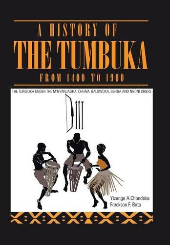 9781499096262: A History of the Tumbuka from 1400 to 1900