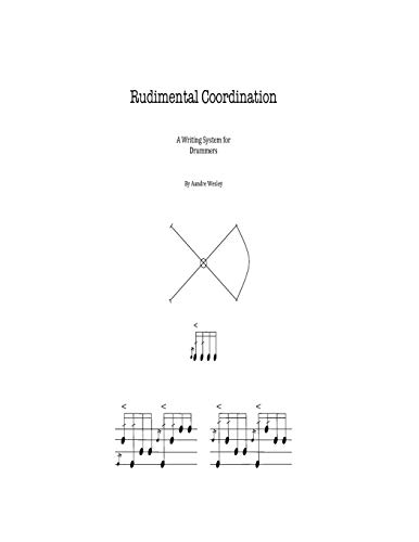 9781499116120: Rudimental Coordination: A Writing System for Drumset.