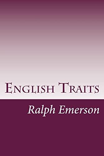 9781499124637: English Traits