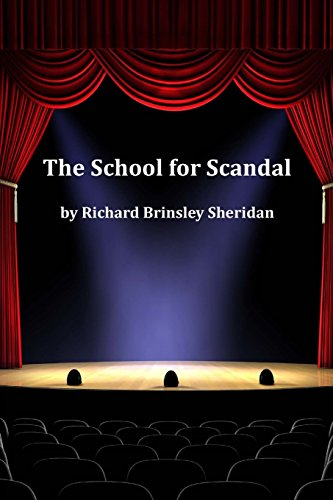 9781499125030: The School for Scandal