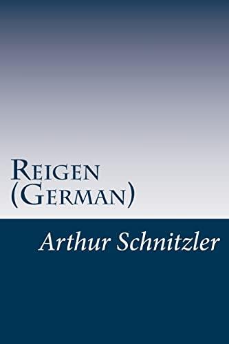 9781499158830: Reigen (German) (German Edition)