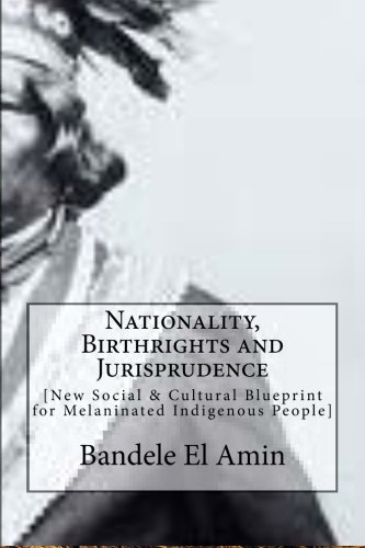 9781499178753: Nationality, Birthrights and Jurisprudence: New Social & Cultural Blueprint for Melaninated Indigenous People