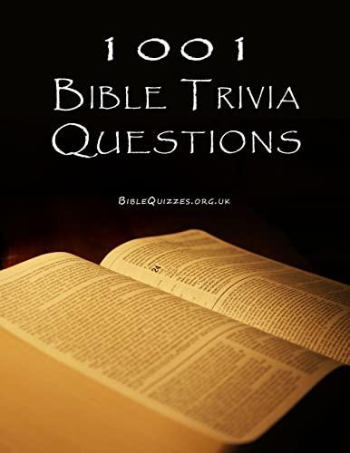 9781499237092: 1001 Bible Trivia Questions