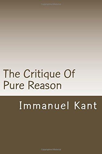9781499252361: The Critique Of Pure Reason