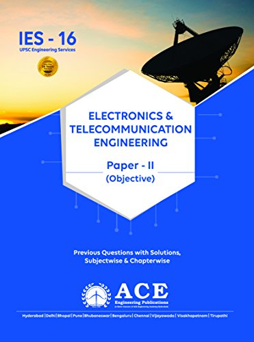 9781499267525: IES-16 Electronics and telecomminucation engineering paper-II objective