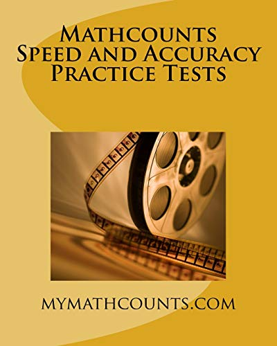 Mathcounts Speed and Accuracy Practice Tests: Chen, Guiling; Chen,