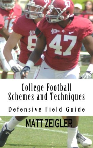 9781499324082: College Football Schemes and Techniques: Defensive Field Guide
