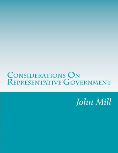 9781499327564: Considerations On Representative Government