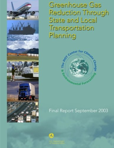 9781499334234: Greenhouse Gas Reduction Through State and Local Transportation Planning