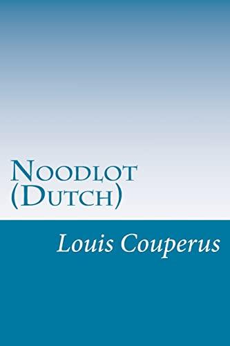 9781499339901: Noodlot (Dutch)