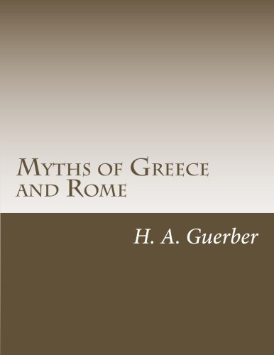 9781499348026: Myths of Greece and Rome