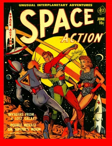 9781499361933: Space Action #1