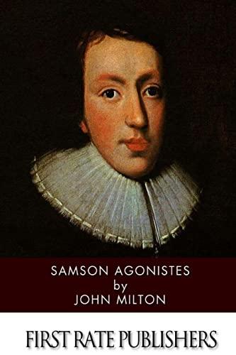 9781499394597: Samson Agonistes