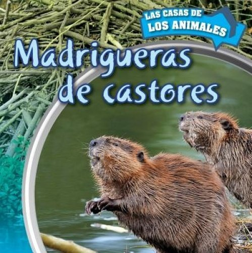 9781499405699: Madrigueras de castores/Inside Beaver Lodges (Las Casas De Los Animales/Inside Animal Homes) (Spanish Edition)