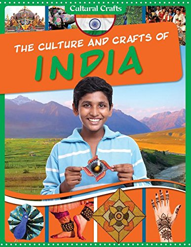 9781499411591: The Culture and Crafts of India (Cultural Crafts)