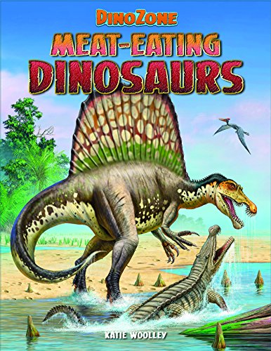 9781499481679: Meat-Eating Dinosaurs (Dinozone)