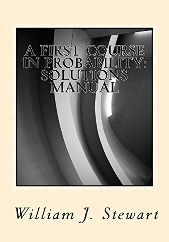9781499508741: A First Course in Probability: Solutions Manual