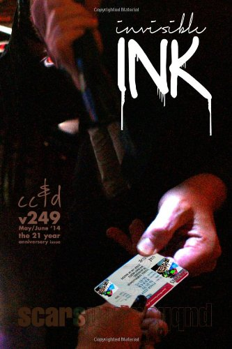 Invisible Ink: cc&d magazIne 249, the 21: Janet Kuypers; David