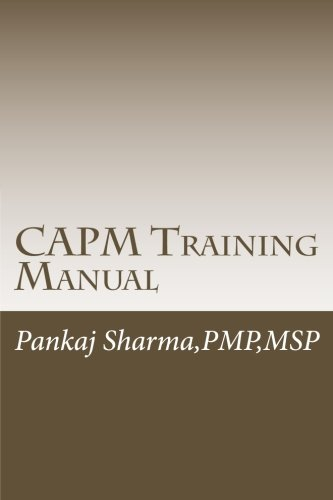 9781499538977: CAPM Training Manual: Based on PMBOK 5th Edition
