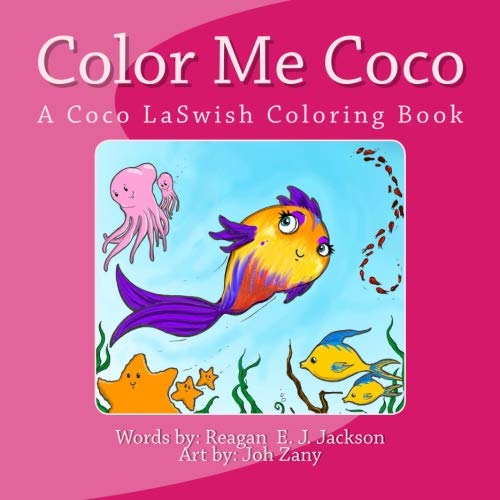 color me coco a coco laswish coloring book jackson reagan e j - Color Me Books