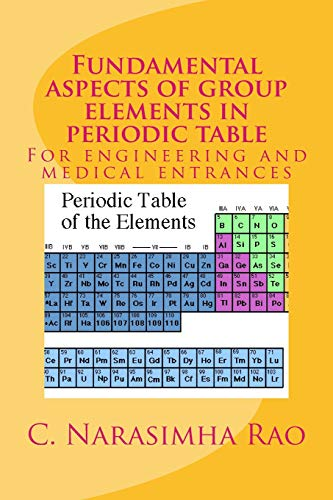 Fundamental Aspects of Group Elements in Periodic: Rao, C. Narasimha