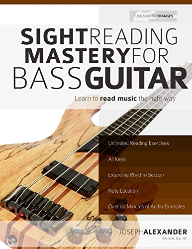 9781499579116: Sight Reading Mastery for Bass Guitar
