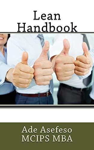 Lean Handbook: Asefeso McIps Mba,