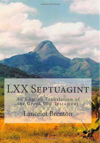 9781499625271: LXX Septuagint: An English Translation of the Greek Old Testament