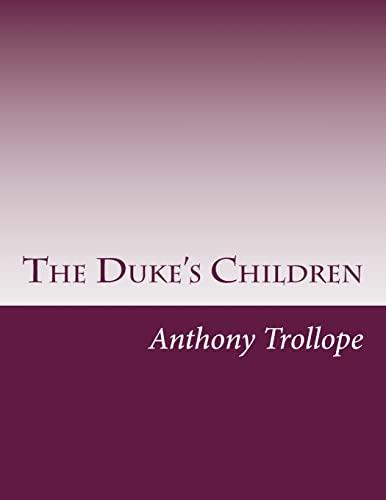 9781499625714: The Duke's Children