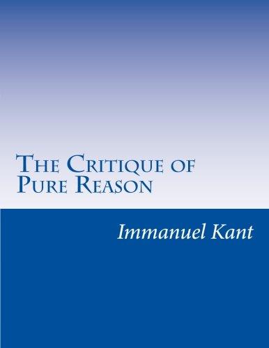 9781499629385: The Critique of Pure Reason