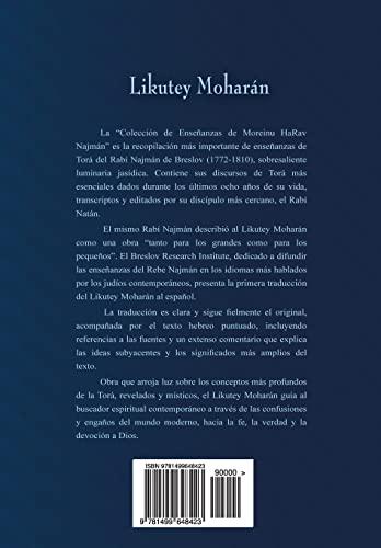 Likutey Moharan (En Espanol) Volumen X: Lecciones: De Breslov, Rabi