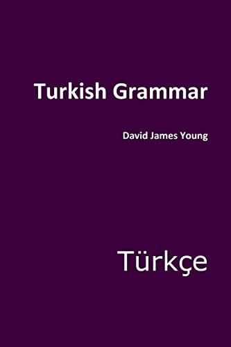 9781499681291: Turkish Grammar