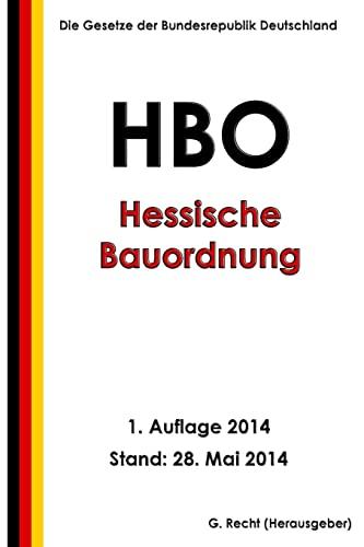 9781499713794: Hessische Bauordnung (HBO) in der Fassung vom 15. Januar 2011