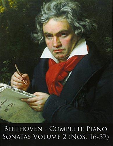 9781499729245: Beethoven: Complete Piano Sonatas Nos. 16-32