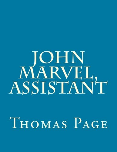 9781499766172: John Marvel, Assistant
