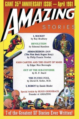 Amazing Stories: Giant 35th Anniversary Issue (Paperback): Ray Bradbury, Edgar