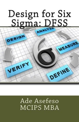 Design for Six SIGMA: Dfss (Paperback): Ade Asefeso MCIPS