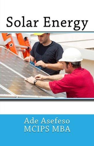Solar Energy: Asefeso McIps Mba,