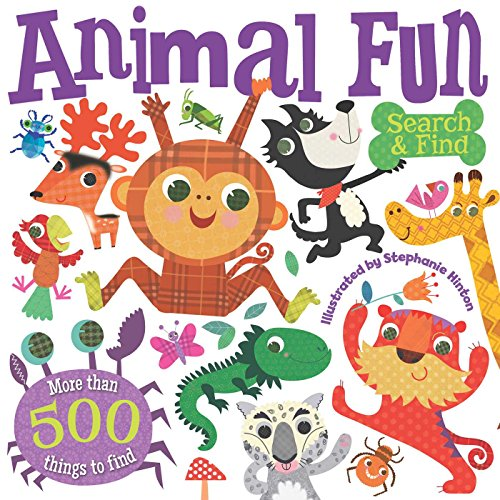 Animal Fun Search and Find: Brook-Piper, Holly
