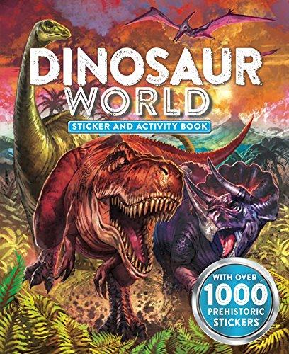 9781499801729: Dinosaur World Sticker and Activity Book