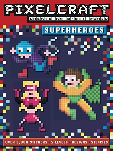 9781499802047: PixelCraft: Superheroes